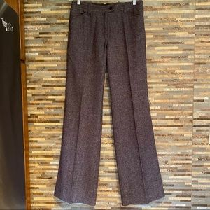 MaxMara Weekend Trouser Brown Tweed sz 12